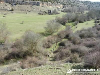 Senderismo Segovia - Riberas de los ríos Pirón y Viejo; senderismo wikipedia; licencia de montaña